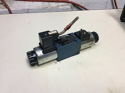 Rexroth Directional Control Valve, 4WE 6 D62/OFEG24N9K4, 24 VDC, Used, Warranty