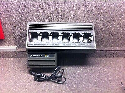 Motorola Ntn1177a 6 Bank Gang Charger For Motorola Jedi Radios Ht1000 Mts2000
