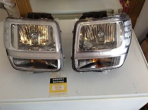 Dodge Nitro 2008 SXT genuine head light both left and right. Seaford Meadows Morphett Vale Area Preview