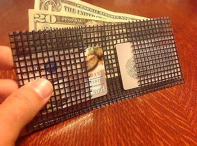 Paperthin WALLET 2 POCKETS CASH SLEEVE made with Kevlar Made USA sail surf skate (Wallet Skate)