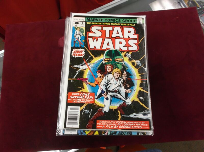 1977 Star Wars #1-106 Marvel VF overall Hi Grade (SW1)