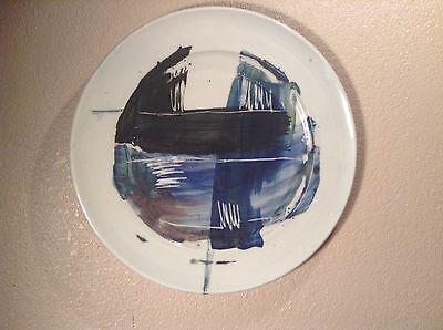 STUDIO ART WALL PLATE ABSTRACT ART