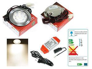 LED-Lampadina-da-incasso-12V-Mobi-3W-30W-Bianco-caldo-incl-AMP
