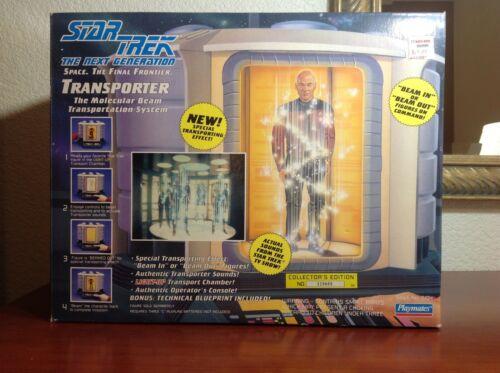 1993 Playmates #6104 Star Trek: The Next Generation Transporter - Sealed Box