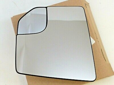 2015-2018 Ford F-150 LH Driver Side View Mirror Glass w/ spotter new OEM Ford F150 Mirror Lh Driver