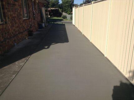 Concrete from $50 per sq metre