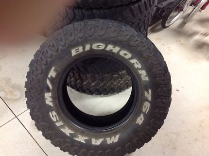 Maxxis bighorn mud tyres South Morang Whittlesea Area Preview