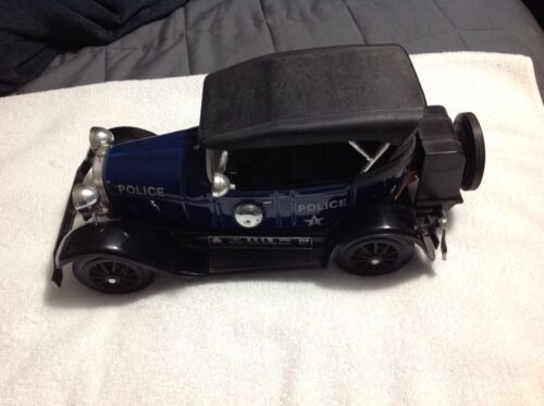 Jim Beam  Decanter - Blue 1929 Police Car