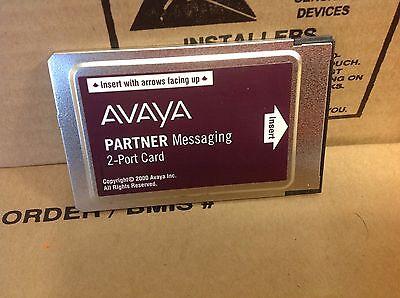 Avaya Partner Messaging 2 Port License Card 515a1 700262454