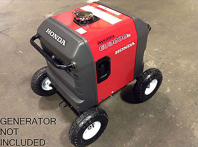 Honda Eu3000is Inverter Generator Allterrain 10  Pnuematic Wheel Kit  Free Ship