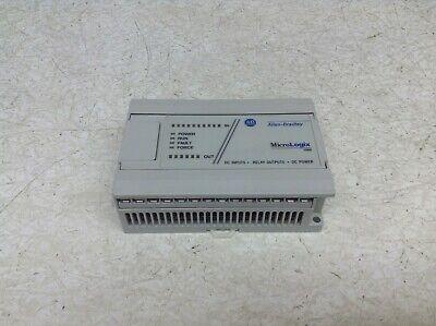 Allen Bradley 1761-l16bwb Micrologix 1000 Ser. E Frn. 1.0 1761l16bwb Tsc