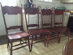 Antique Bass River chairs