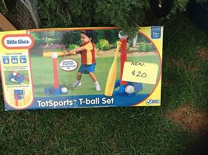Little Tikes Tots Sport T-Ball Set NEW Greystanes Parramatta Area Preview
