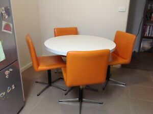 Retro table and chairs