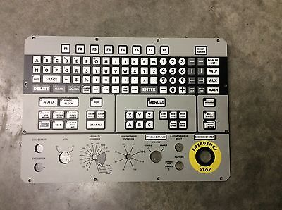 Kearney Trecker Mm800 Milling Machine Cnc Keypad Face 800-01342-18