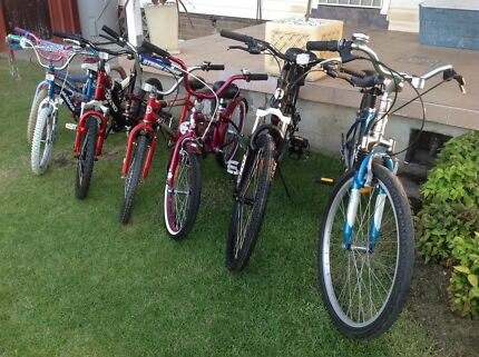 Bicycles from $29 road bikes/kids/girls/mountain bikes,excellent cond Blacktown Blacktown Area Preview