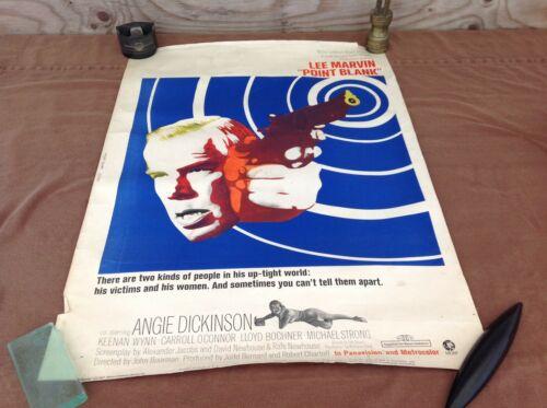 1967 Point Blank Original Movie House Full Sheet Poster