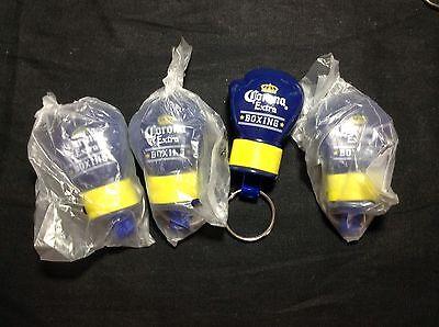 4 Corona Extra Beer Boxing Glove Bottle Opener Keychains