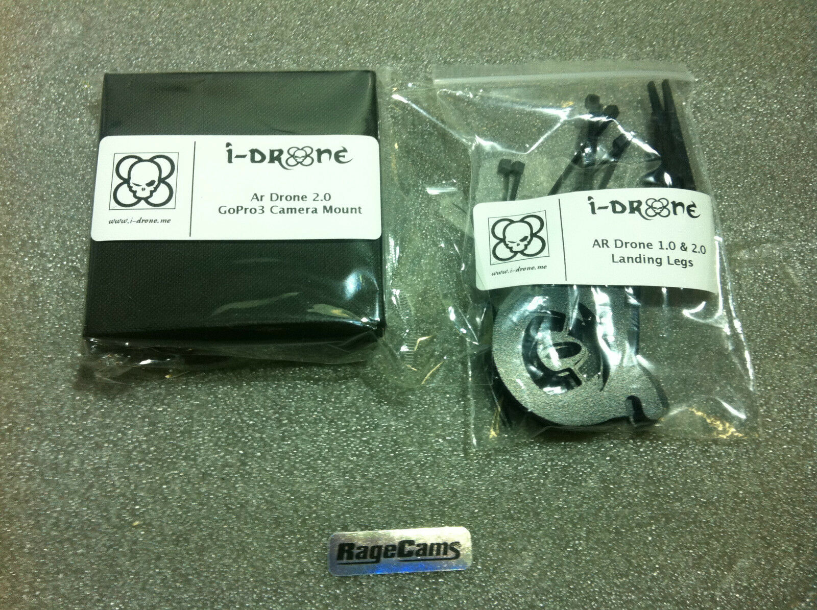 I-drone Ar Drone 2.0 Gopro 3 Stabilizer Custom Mount For ...