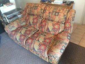 Recliner lounge suite and chairs Dingley Village Kingston Area Preview