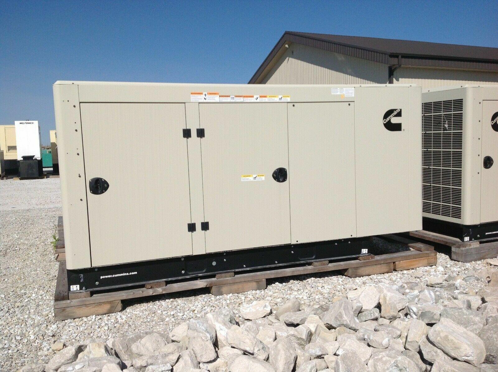 New Cummins Onan RS Series 50kW Natural Gas/Propane RS50 Liquid Cooled Generator