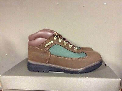Timberland Field Boot Brown Nubuck/Olive Junior Big Kids Boots 16937 NEW Big Kid Field Boot