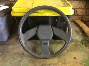 Mitsubishi cordia turbo steering wheel Morphett Vale Morphett Vale Area Preview