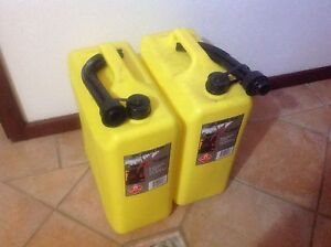 Jerry cans for Diesel 2 x 20 liter Kingsley Joondalup Area Preview