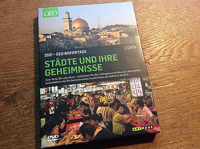 360° - GEO Reportage - Städte [2 DVD] ARTHAUS New York Rio Rom Johannesburg online kaufen