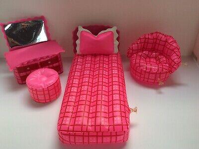 Vintage 1970's Barbie Blow-up Inflatable Furniture Bedroom