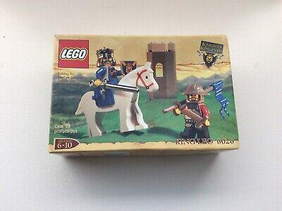 Lego 6026 Vintage Castle Knights Kingdom Set King Leo New Complete Sealed 2000
