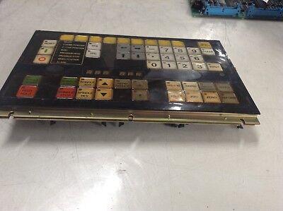Mitsubishi Mazak Fujitsu Key Board Panel, N860-3336-T002 06A, Used, WARRANTY