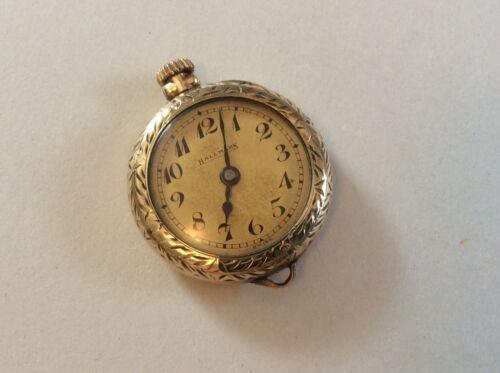 Vintage Gold Hallmark Watch. Ladies. 15 JLS. 3 ADJ. E. Blancpain Fils. C-1-18-K.