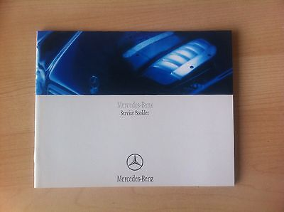 Mercedes Service Book Not Duplicate All Models Geunuine All Models
