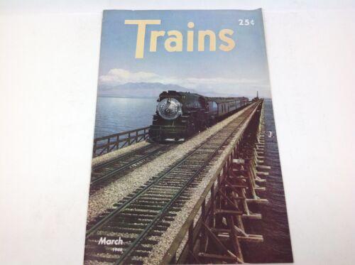 Vintage Trains Magazine March 1946