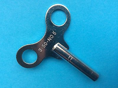 Uhrenschlüssel für Großuhren Nr. 5 Vierkant 3,50mm
