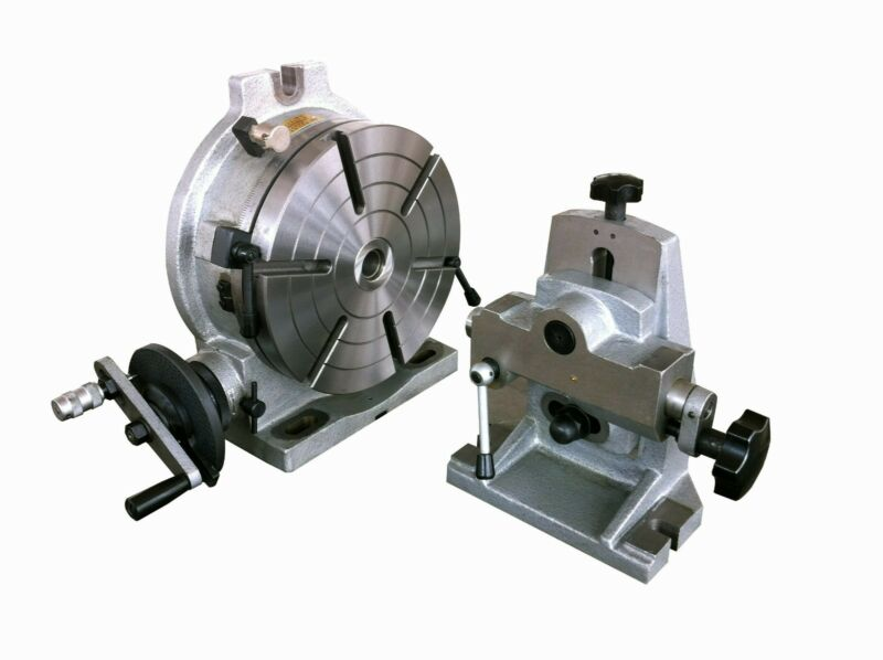"10"" Precision H & V Rotary Table ( with Dividing Plate and Tailstock )"