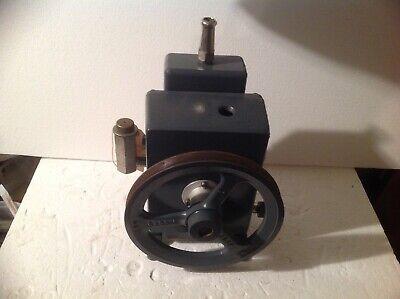 Duo-seal Vacuum Pump R1400 Welch Scientific 1400 Belt Derive Rebuilt And Cleane