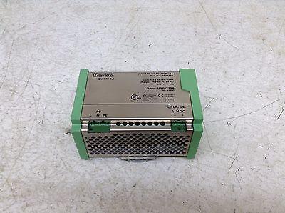 Phoenix Contact 2939056 24 Vdc 2.5 Amp Power Supply Quint-ps-120ac24dc25