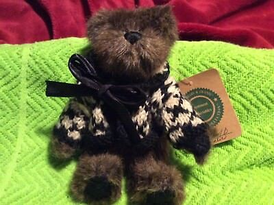 "Boyds Bear Plush Archibald McBearlie 6.5"" Archive Collection / Investment Collec"