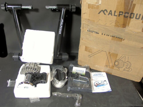 Alpcour Bike Trainer Stand – Magnetic Flywheel APC-BTSFBK