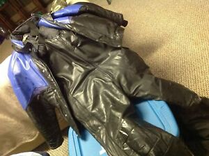 Leather Skidoo Suit