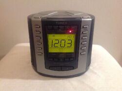 Timex T601G Nature Sound Clock Radio,Stereo CD Player,Digital Tuning,AM/FM Radio