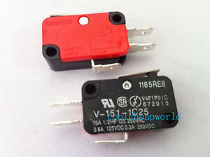 10pcs-V-151-1C25-Momentary-Limit-Micro-Switch-SPDT-Snap-Action-Switch
