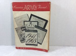 1965 Canadian Army Journal