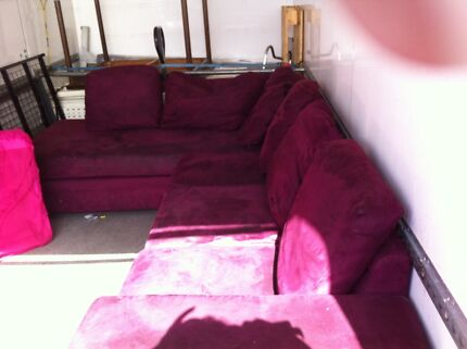 L Shaped Couch Broadwater Busselton Area Preview