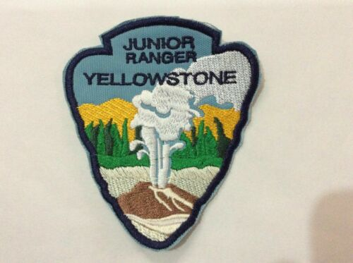 Patch Yellowstone National Park - Junior Ranger - Souvenir - Wyoming - Idaho