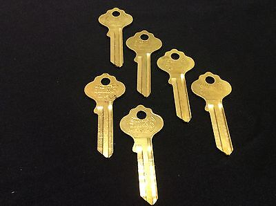 Ilco By Star In18 Key Blanks Set Of 6- Locksmith
