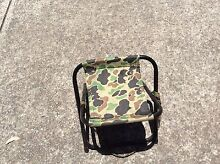 Camouflage Folding Fishing Stool Metford Maitland Area Preview
