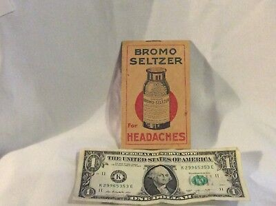authentic 1919-20 Bromo Seltzer advertising calander and useful information-nice